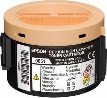 EPSON originální toner C13S050651, black, 2200str., return, high capacity, EPSON Aculaser