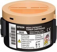EPSON originální toner C13S050650, black, 2200str., high capacity, EPSON Aculaser M1400, M