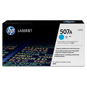 HP originální toner CE401A, cyan, 6000str., HP 507A, HP LaserJet Enterprise 500 color M551