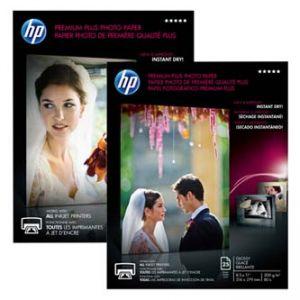 HP Premium Plus Glossy Photo Paper, foto papír, lesklý, bílý, A4, 210x297mm (A4), 300 g/m2