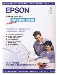 EPSON A4, Iron on Transfer Film (10ks) na trička