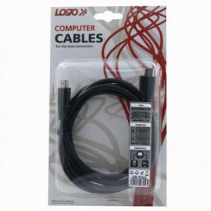 Kabel HDMI M- HDMI M, High Speed, 2m, černý, LOGO, blistr