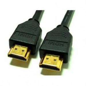 Audio/video kabel High Speed, HDMI-HDMI, M/M, 1m, zlacené konektory