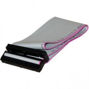 Kabel k hardisku datový ATA 100, ATA M- ATA 2x F, 0.45m, 40 žil, ATA100, šedý, LOGO