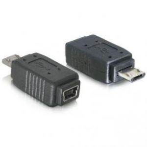 USB (2.0) Redukce, USB micro (2.0) M-USB mini (2.0) F, 0, černá, LOGO