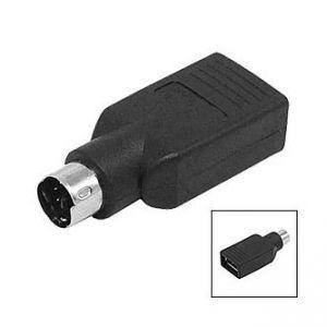 USB Redukce, pro myš, PS/2 M-USB A (2.0) F, 0, černá, LOGO