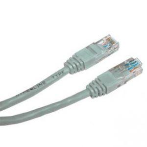 UTP patchcord UTP patchcord, Cat.6, RJ45 M-3m, nestíněný, šedý, economy