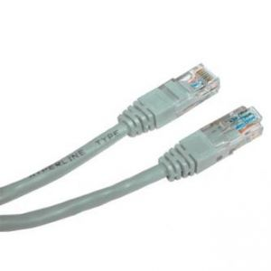 UTP patchcord UTP patchcord, Cat.6, RJ45 M-20m, nestíněný, šedý, economy
