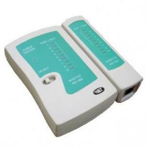 Kabelový tester RJ11, RJ12, RJ45, LED kontrola