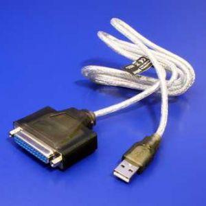 USB kabel 1.1 / Paralelní LPT 25pin M/F 1.5m IEEE 1284