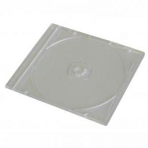 Box na 1 ks CD, průhledný, tenký, 5,2mm, balení/200ks, cena/1ks