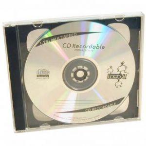 Box na 2 ks CD, průhledný, černý tray, 10,4 mm, balení/200ks, cena/1ks