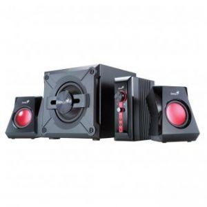 GENIUS reproduktory SW-G2.1 1250, 2.1, 36W, ovládání hlasitosti, černé, herní, 3.5mm konek