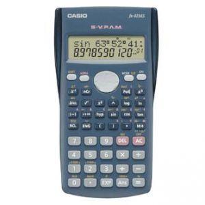 Kalkulačka CASIO FX 82 MS, černá, školní, desetimístná