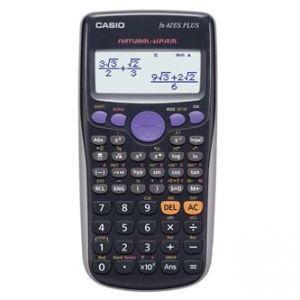 Kalkulačka CASIO FX 82ES PLUS, černá, školní, desetimístná