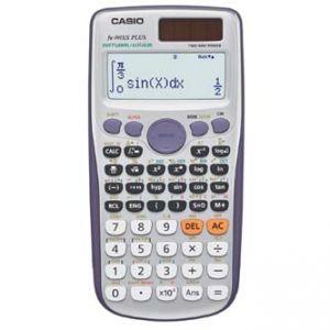 Kalkulačka CASIO FX 991ES Plus, bílá, školní, dvanáctimístná