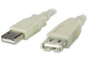 PREMIUMCORD USB 2.0 kabel prodlužovací, A-A, 2m