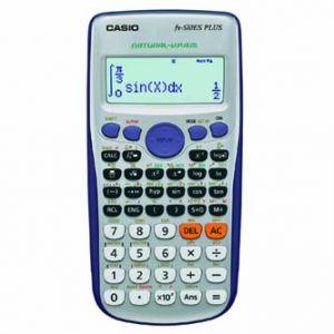 Kalkulačka CASIO FX 570 ES PLUS, bílá, školní, dvanáctimístná
