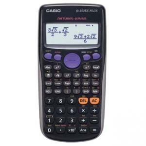 Kalkulačka CASIO FX 350 ES PLUS, černá, školní, dvanáctimístná