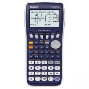 Kalkulačka CASIO FX 9750 GII, modrá, grafická s 8-mi řádkovým displejem