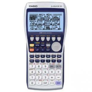 Kalkulačka CASIO FX 9860 GII SD, modrá, grafická s rozšířením paměti SD kartou