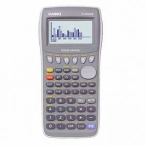 Kalkulačka CASIO FX 7400 Gll, šedá, grafická s 6-ti řádkovým displejem