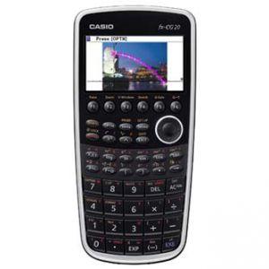 Kalkulačka CASIO FX CG20, černá, grafická s barevným displejem
