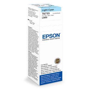 EPSON originální ink C13T67354A, light cyan, 70ml, EPSON L800
