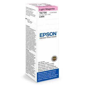 EPSON originální ink C13T67364A, light magenta, 70ml, EPSON L800