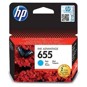 HP originální ink CZ110AE, HP 655, cyan, 600str., HP Deskjet Ink Advantage 3525, 5525, 652