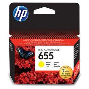 HP originální ink CZ112AE, HP 655, yellow, 600str., HP Deskjet Ink Advantage 3525, 5525, 6