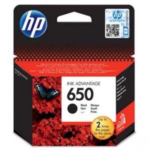 HP originální ink CZ101AE, HP 650, black, blistr, 360str., HP Deskjet Ink Advantage 2515 A