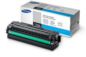 SAMSUNG originální toner CLT-C506L, cyan, 3500str., high capacity, SAMSUNG CLP-680, 680ND,