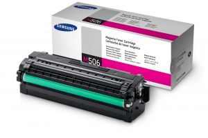 SAMSUNG originální toner CLT-M506L, magenta, 3500str., high capacity, SAMSUNG CLP-680, 680