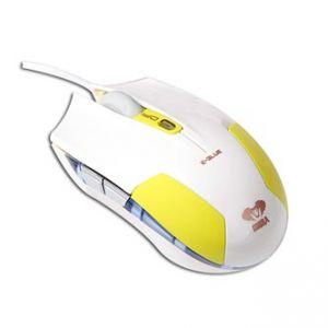 E-BLUE Myš Cobra S, optická, 6tl., 1 kolečko, drátová (USB), zelená, 1600DPI
