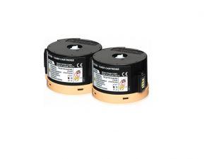 EPSON originální toner C13S050710, black, 2x2500str., EPSON AcuLaser M200, MX200