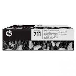 HP originální sada pro výměnu tiskové hlavy C1Q10A, CMYK, HP DesignJet T120,T520, součástí
