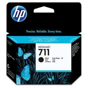 HP originální ink CZ133A, HP 711, black, 80ml, HP DesignJet T120, T520
