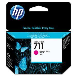 HP originální ink CZ131A, HP 711, magenta, 29ml, HP DesignJet T120, T520