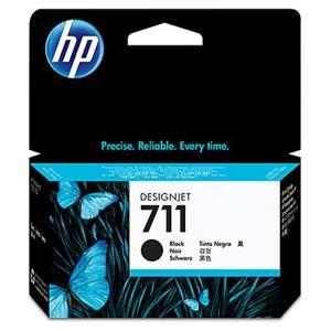 HP originální ink CZ129A, HP 711, black, 38ml, HP DesignJet T120, T520
