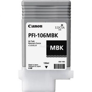 CANON originální ink PFI-106MBk matte black 130ml 6620B001 CANON iPF-6300