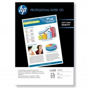 HP Professional Glossy Laser Photo Paper, 210x297mm (A4), 120 g/m2, 250 CG964A