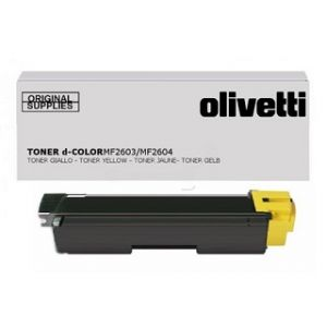 OLIVETTI originální toner B0949, yellow, 5000str., OLIVETTI D-COLOR P2026