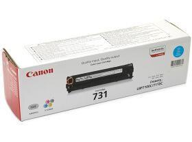 CANON originální toner CRG731, cyan, 1500str., 6271B002, CANON i-SENSYS LBP-7100Cn, 7110Cw