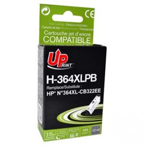 UPRINT kompatibilní ink s CB317EE, CB322EE, HP 364, photo black, 12ml, H-364XL-PB, pro HP