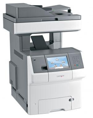 LEXMARK X748de Laserová multifunkční tiskárna A4 barevná 1200x1200dpi 33ppm duplex LAN