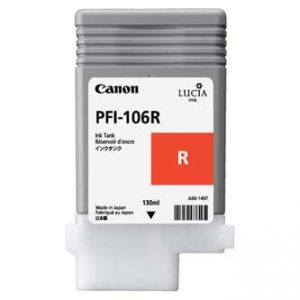 CANON originální ink PFI-106R red/červený 130ml 6627B001 CANON iPF-6300