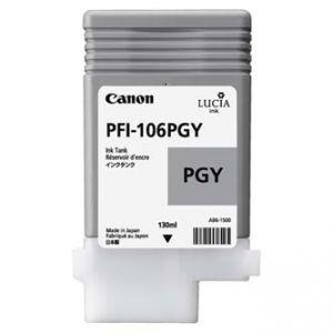 CANON originální ink PFI-106PGY photo grey 130ml 6631B001 CANON iPF-6300,6400