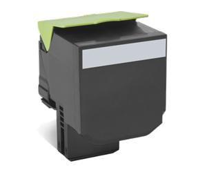 LEXMARK originální toner 70C0X10, black, 8000str., extra high capacity, LEXMARK CS510de, C