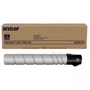 DEVELOP originální toner A33K1D2, black, 27500str., TN-512K, DEVELOP Ineo +454, +455
